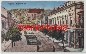 83108 Ak Miskolc Ungarn Erzsébet Tér 1918