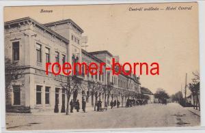 83205 Ak Zemun Ungarn Hotel Zentral um 1915