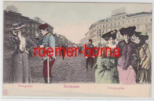82984 Ak Budapest Ungarn Octogonplatz um 1900