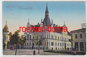 82977 Ak Karansebes Rumänien Stadthaus 1912