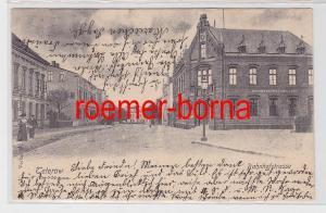 81789 Ak Teterow Bahnhofstrasse 1903