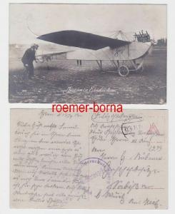 73635 Ak Jeannin Eindecker Fliegerbeobachterschule Thorn 1917