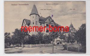 81355 Ak Seebad Swinemünde Świnoujście Hardenberg-Strasse um 1920