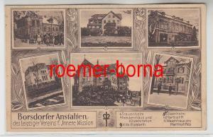 81297 Mehrbild Ak Borsdorfer Anstalten d. Leipziger Verein Innere Mission um1920