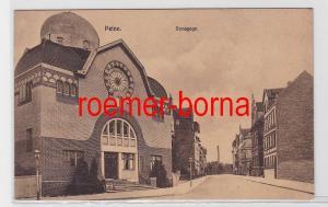 81581 Ak Peine Synagoge um 1920