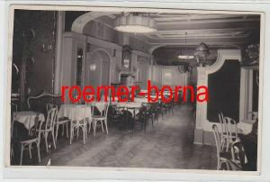 82308 Foto Ak Danzig Innenansicht einer Gaststätte 1932