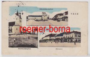 83202 Mehrbild Ak Vácz Vac Waitzen Ungarn Ortsansichten 1924