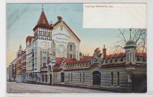 84141 Ak Leipzig Stötteritz Papiermühle Concert & Balletablissement