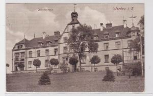 31865 Ak Werdau in Sachsen Krankenhaus 1932