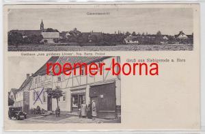 81464 Mehrbild Ak Gruß aus Siebigerode a. Harz Gasthaus zum goldenen Löwen 1935