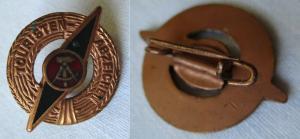 DDR Abzeichen Touristenabzeichen in Bronze (135262)