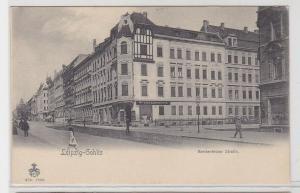 94239 Ak Leipzig Gohlis Breitenfelder Strasse um 1900