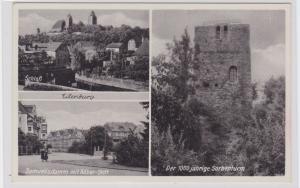 87688 AK Eilenburg - Schloß, Samuelisdamm mit Röber-Stift & Sorbenturm