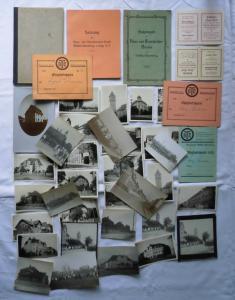 Nachlaß mit Dokumenten und Fotos von Böhlitz Ehrenberg um 1930 (117654)