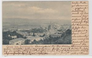 05854 AK Gruss aus Freienwalde - vom Schlossberg aus gesehen, Bahnpost 1902