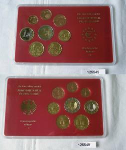BRD Euro Kursmünzensatz D (KMS) 2003 PP / Prägebuchstabe