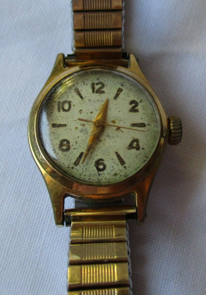 Mit Slava Vergoldete Armbanduhr Handaufzug123993 Damen 5qL3j4AR