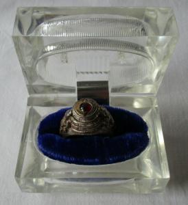 Seltener 925er Sterling Silber Giftring