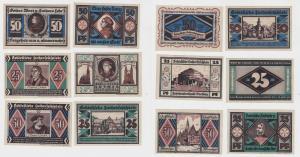 6 Banknoten Notgeld Schlesische Lutherfestspiele Breslau 1921 (132976)