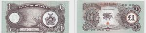 1 Pfund Banknote Biafra 1968-1969 bankfrisch UNC (129054)