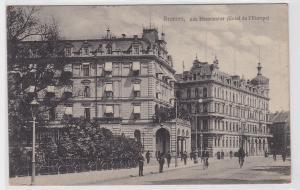 90812 Ak Bremen am Heerdentor (Hotel de l`Europe) 1913