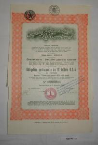 10 Dollar Aktie Compañia Mexicana de Petroleo