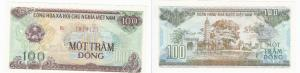 100 Dong Banknote Vietnam 1991 bankfrisch UNC (129061)