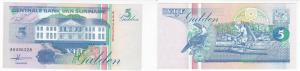 5 Gulden Banknote Suriname 1991 bankfrisch UNC (129091)
