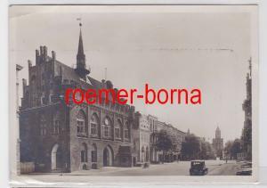 61060 Ak Marienburg Rathaus um 1930