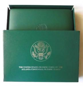 1995-1996 United States Olympic Games Eight Coin Commemorative Coin Proof-Set