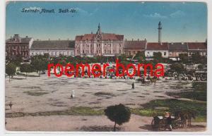 83094 Ak Szatmár-Németi Komitat Sathmar Rumänien Deák Tér 1916