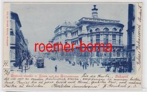 83212 Ak Budapest Ungarn Klinik auf der Üllöerstrasse 1899