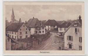94381 AK Heisbrunn - Weltkrieg 1914/17 Aus den Kämpfen im Oberelsaß Nr. 55