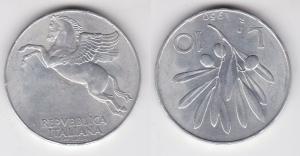 10 Lire Aluminium Münze Italien 1950 R (112905)