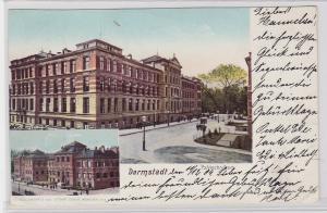 80409 Mehrbild Ak Darmstadt Polytechnikum 1904