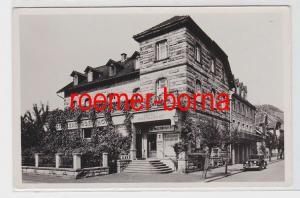 83286 Ak Heppenheim a.d.B. Hotel Starkenburger Hof 1955