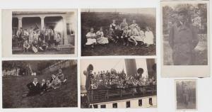 6 Ak bzw. Foto Sächsische Arbeiterjugend Chemnitz bei Ausflügen (94723)