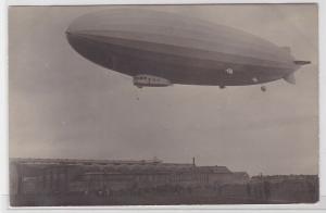 91380 AK Amerika Luftschiff Z.R. 3 - Luftschiffhafen Friedrichshafen um 1930