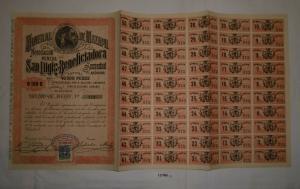 100 Pesos Aktie Mineral de Mazapil Negociacion Minera Mexiko 1936 (127065)