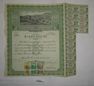 125 Pesos Aktie Compania de Minas la Blanca y Anexas Mexiko 1936 (128066)