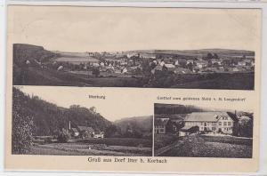 85667 AK Gruß aus Dorf Itter bei Korbach - Itterburg, Gasthof zum goldenen Stern