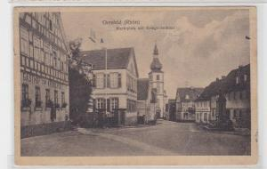 94484 AK Gersfeld (Rhön) - Marktplatz mit Kriegerdenkmal 1921