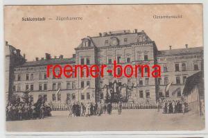 83481 Ak Schlettstadt Sélestat Jägerkaserne Gesamtansicht um 1915