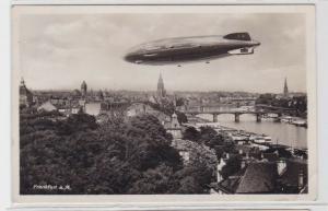 94489 AK Frankfurt am Main - Zeppelin Hindenburg zur Olympiade 1936