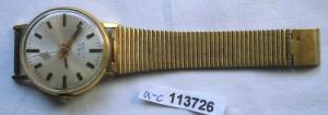 Seltene Poljot Herren Armbanduhr mit Gravur 20 Jahre Kampfgruppen (113726)
