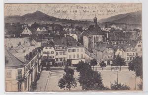 91403 Ak Zabern im Elsass Schloßplatz mit Hohbarr und Geroldseck 1918