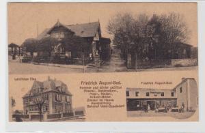 94004 AK Wald-Oppelsdorf - Friedrich August-Bad, Landhaus Else, Bahnhof 1926