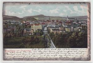 89847 AK Hirschberg vom Cavalierberg - Panorama mit Ortsansicht 1906