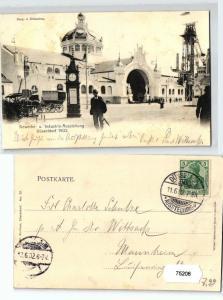 75208 Ak Düsseldorf Gewerbe- & Industrie Ausstellung 1902