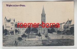 83372 Ak Wąbrzeźno Briesen Marktplatz 1921